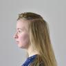 Dutch half crown braid | Holländischer Halbkronenzopf