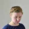 Dutch crown braid | Holländischer Kronenzopf