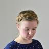 Dutch crown braid | Holländischer Kronenzopf